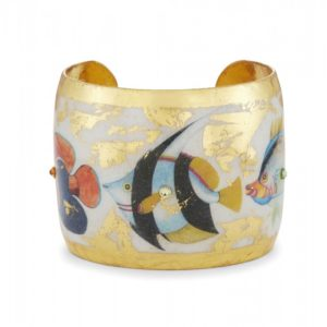 Go Fish Cuff - White