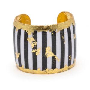 Black & White Stripes Cuff
