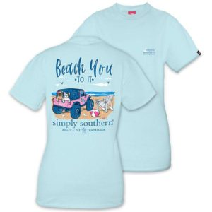 Preppy Beach You To It tee shirt by simply southern