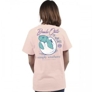 Preppy Break Out tee shirt by simply southern