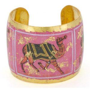 Pink Camel Cuff