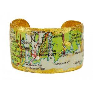 Newport, RI Map Cuff