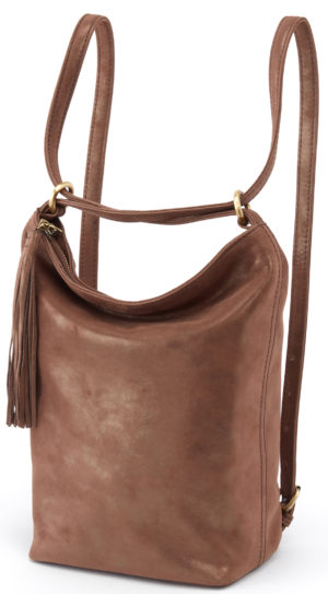leather Blaze Backpack Brass by hobo the original
