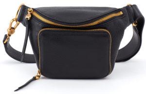 leather Pulse Belt Bag Black by hobo the original