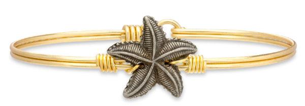 Starfish Bangle Bracelet handmade in the USA by luca + danni