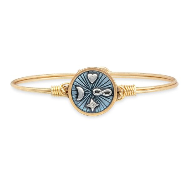 Infinite Love Bangle Bracelet by luca and danni