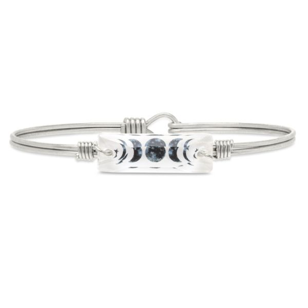 Luna Bangle Bracelet by luca and danni