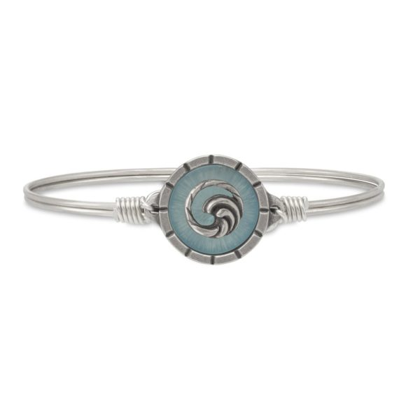 Wave Isla Bangle Bracelet by luca and danni