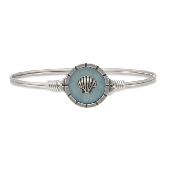 Shell Isla Bangle Bracelet by luca and danni