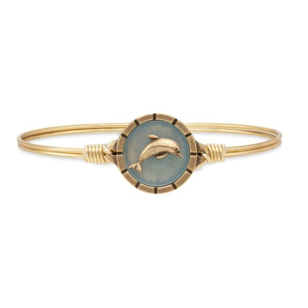Dolphin Isla Bangle Bracelet by luca and danni