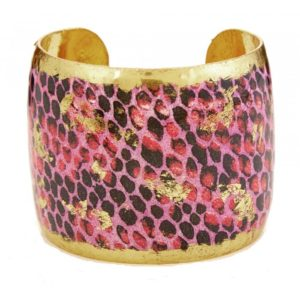 Snakeskin Pink Cuff