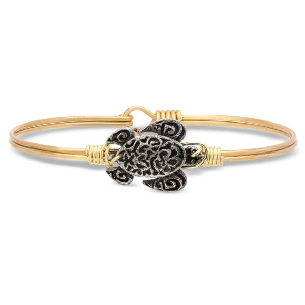 Sea Turtle Bangle Bracelet handmade by luca+ danniSea Turtle Bangle Bracelet handmade by luca+ danni