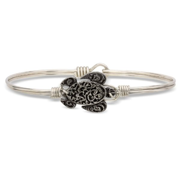Sea Turtle Bangle Bracelet handmade by luca+ danni