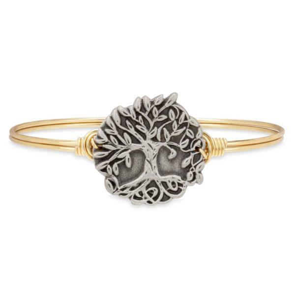 Wishing Tree Bangle Bracelet handmade in the USA by luca + danni