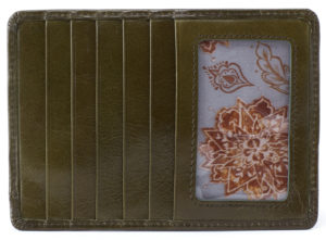 Euro Slide Mistletoe Credit Card Wallet