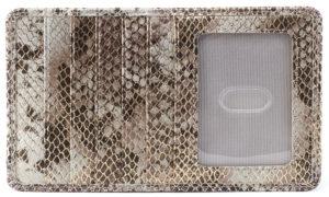 Euro Slide Platinum Shimmer Credit Card Wallet