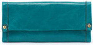 leather Fable Teal Wallet by hobo the original