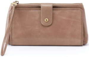 leather Cleo Cobblestone Wristlet by hobo the original