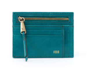 leather Brink Teal Wallet by hobo the original