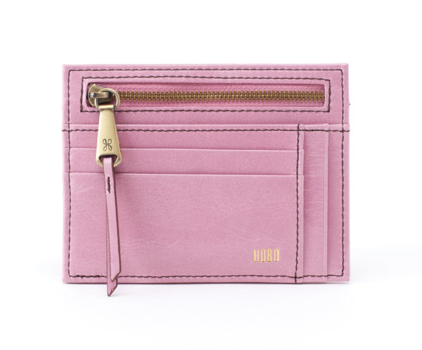 leather Brink Lilac Wallet by hobo the original
