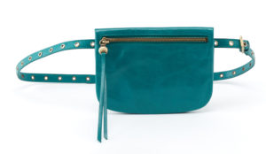 leather Saunter Teal Belt Bag by hobo the original