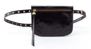 leather Saunter Black Belt Bag by hobo the original