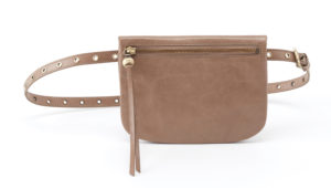 leather Saunter Cobblestone Belt Bag by hobo the original