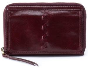 Elm French Wallet Deep Plum