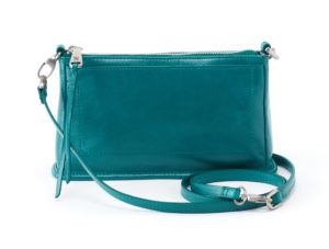 leather Cadence Bluegrass Crossbody by hobo the original