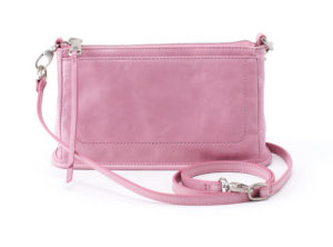 leather Cadence Lilac Crossbody by hobo the original