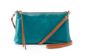 leather Darcy Bluegrass Crossbody by hobo the original