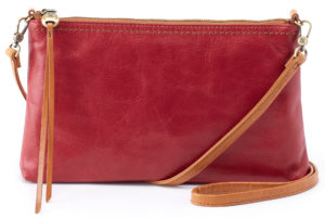 leather Darcy Logan Berry Crossbody by hobo the original