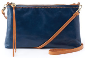 leather Darcy Sapphire Crossbody by hobo the original