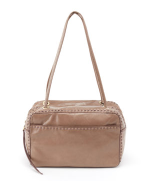 leather Crux Grey Shoulder Bag by hobo the original