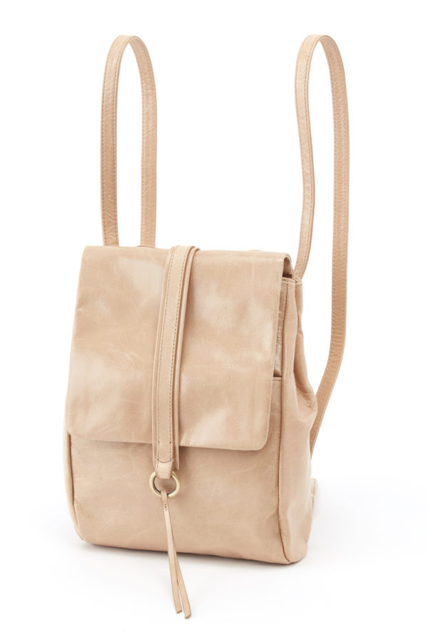 leather Bridge Parchment Backpack by hobo the original