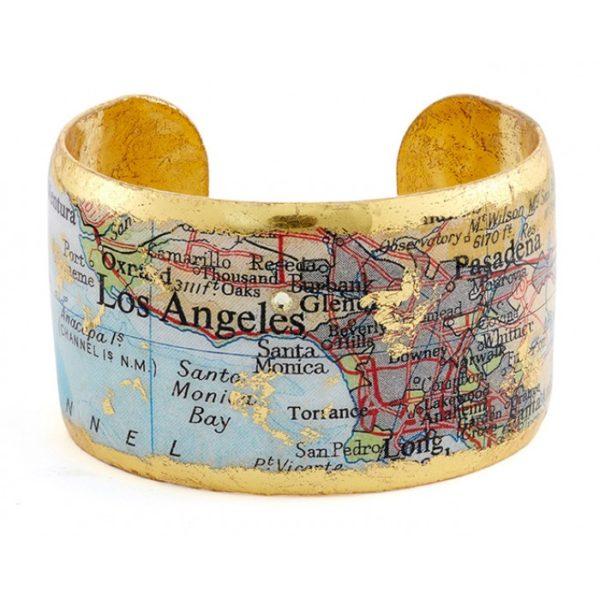 Los Angeles Map Cuff