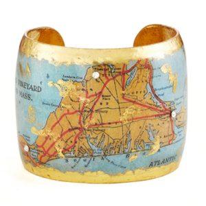 Martha's Vineyard Map Cuff