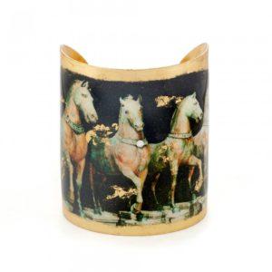 """Cavalli Horse Cuff - 3"""""""