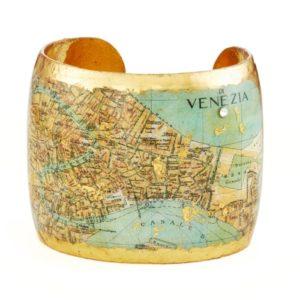 Venice, Italy Map Cuff