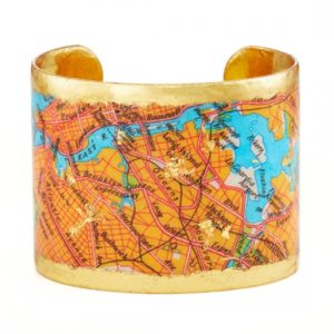 Brooklyn Queens Map Cuff