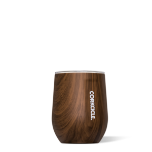 12oz Stemless Wine Tumbler Walnut Wood by corkcicle
