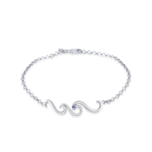 wave anklet by nau-t-girl