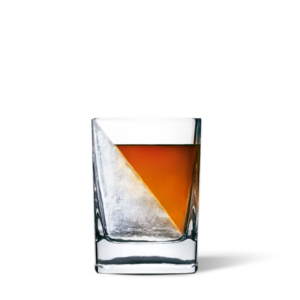 whiskey ice cube wedge glass by corkcicle