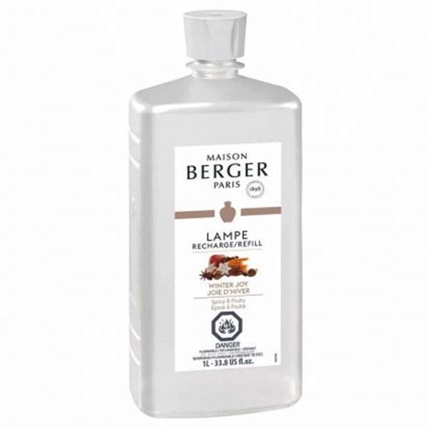 Winter Joy Liter home fragrance air purifier by lampe berger maison berger