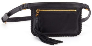 leather Twig Black belt bag by hobo the original