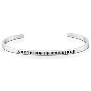Anything is Possible bangle Bracelet Silver