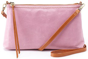 leather Darcy Lilac Crossbody by hobo the original