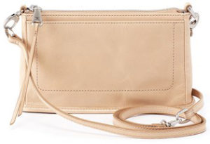leather Cadence Parchment Crossbody by hobo the original