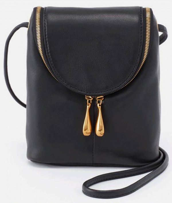 Fern Black Crossbody