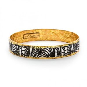Black Mascara Bangle